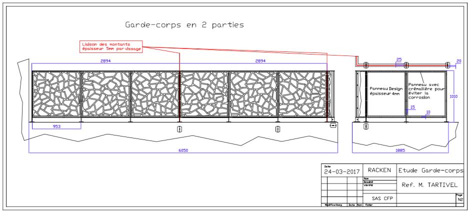 GARDE-CORPS EXTÉRIEUR DESIGN