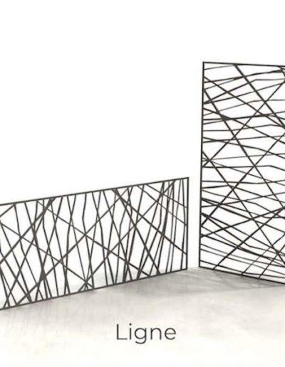 panneau-metal-decoratif-Ligne