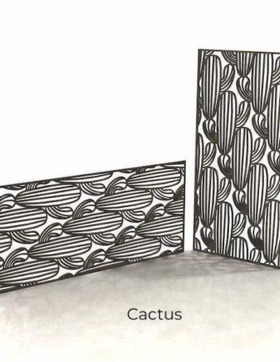 panneau-metal-decoratif-cactus
