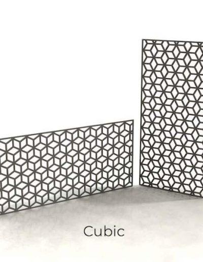 panneau-metal-decoratif-cubic