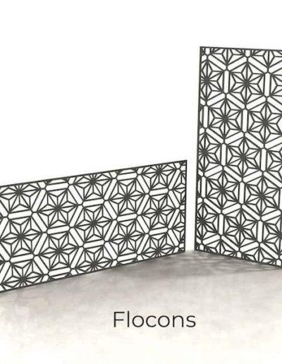 panneau-metal-decoratif-flocons