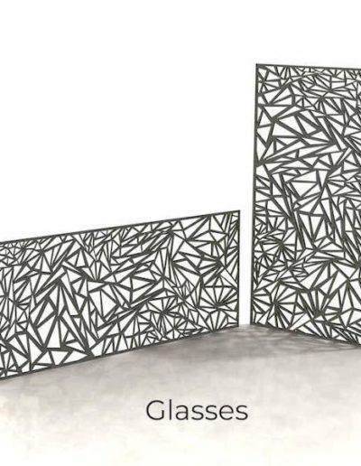 panneau-metal-decoratif-glasses