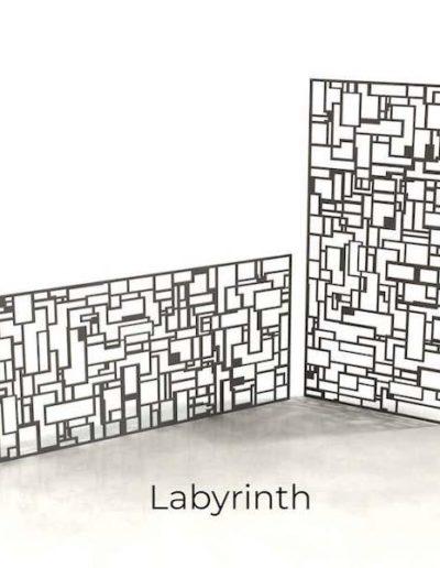 panneau-metal-decoratif-labyrinth