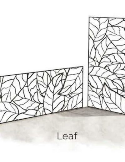 panneau-metal-decoratif-leaf