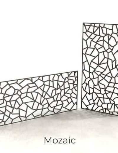 panneau-metal-decoratif-mozaic