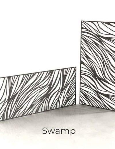 panneau-metal-decoratif-swamp