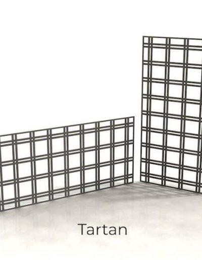 panneau-metal-decoratif-tartan