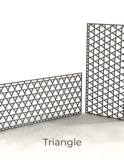 panneau-metal-decoratif-triangle