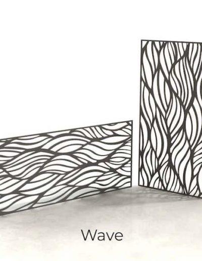 panneau-metal-decoratif-wave