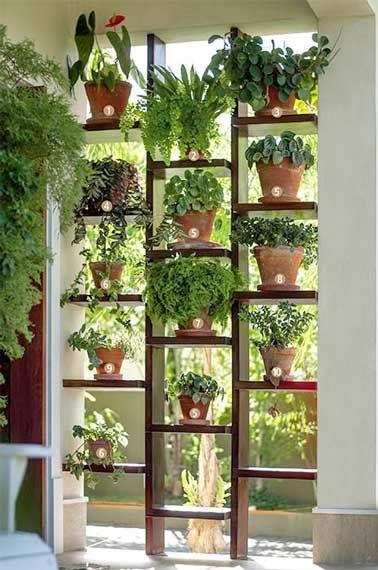 cloison-plante-decoration-etagère