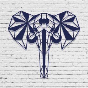 éléphant-déco-murale-acier