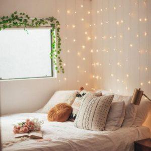 guirlandes-chambre-décoration