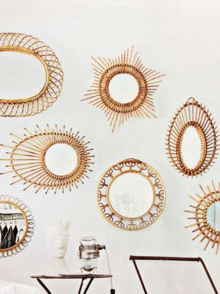 miroir-rotin-decoration-bohème-vintage